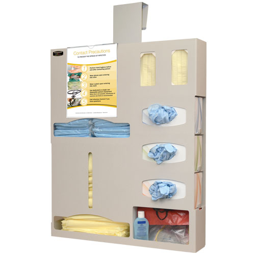 BD615-0012 : Quartz Beige ABS Hanging Plastic Protection System Isolation Bundle