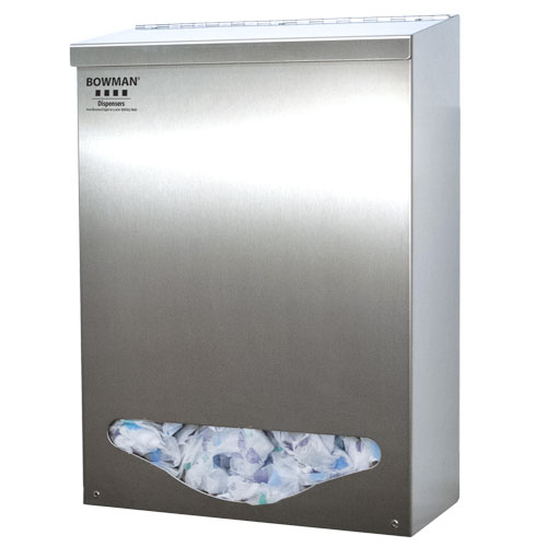 BK001-0300 Stainless Steel Bulk Dispenser - Tall Single Bin