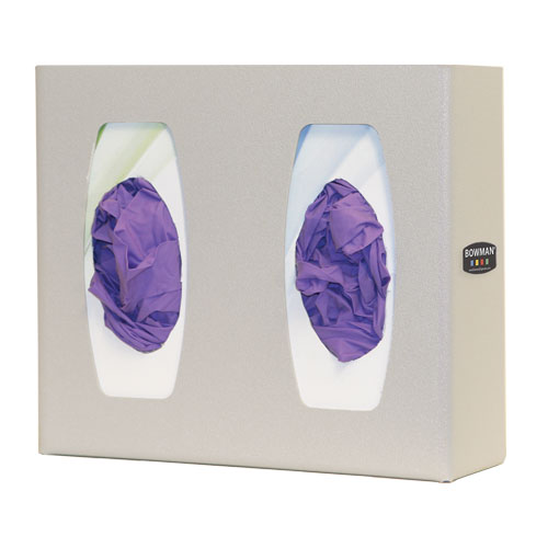 GL020-0212 Bowman ABS Plastic Glove Box Dispenser - Double