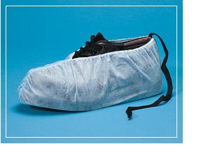 Keystone® Disposable Polypropylene Non-Skid ESD Safe Shoe Covers