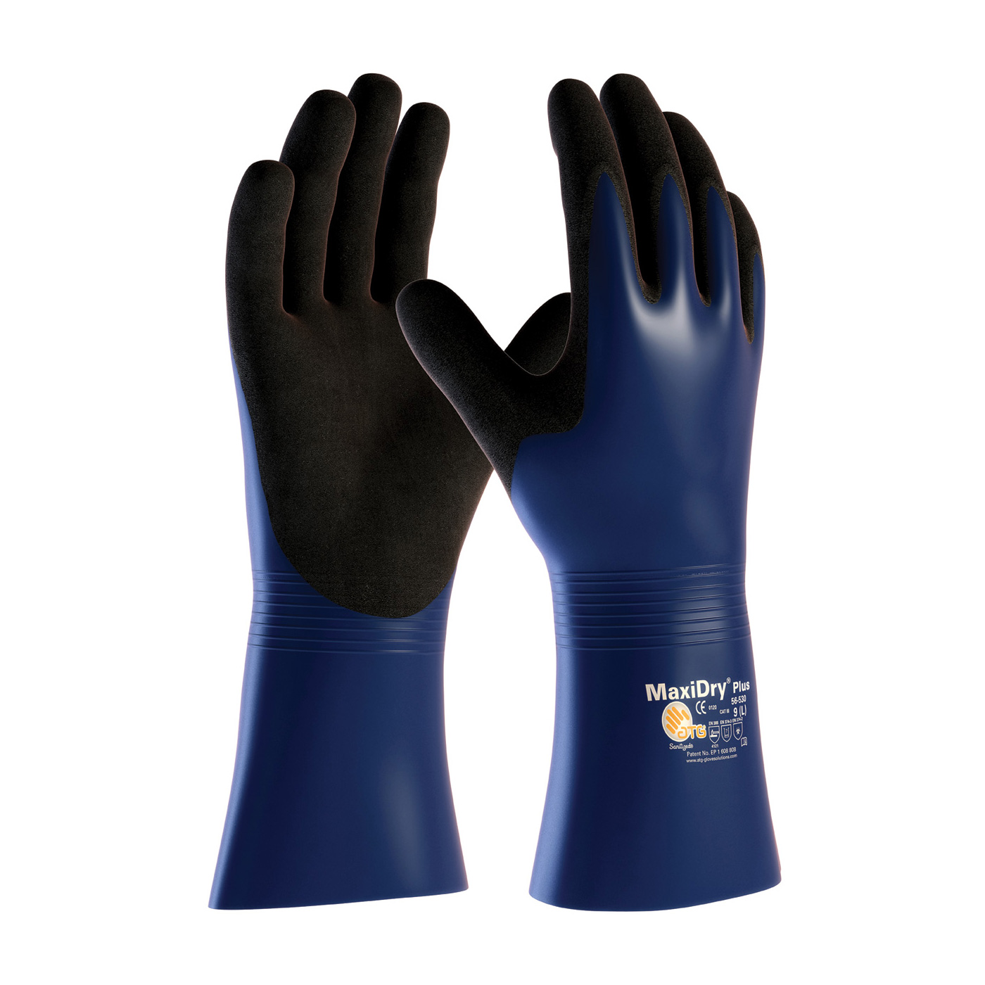 56-530 PIP® MaxiDry® Plus™ Nitrile Gloves by ATG®