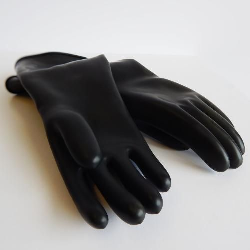 Guardian Smooth Curved Hand Butyl Gloves - 35 mil