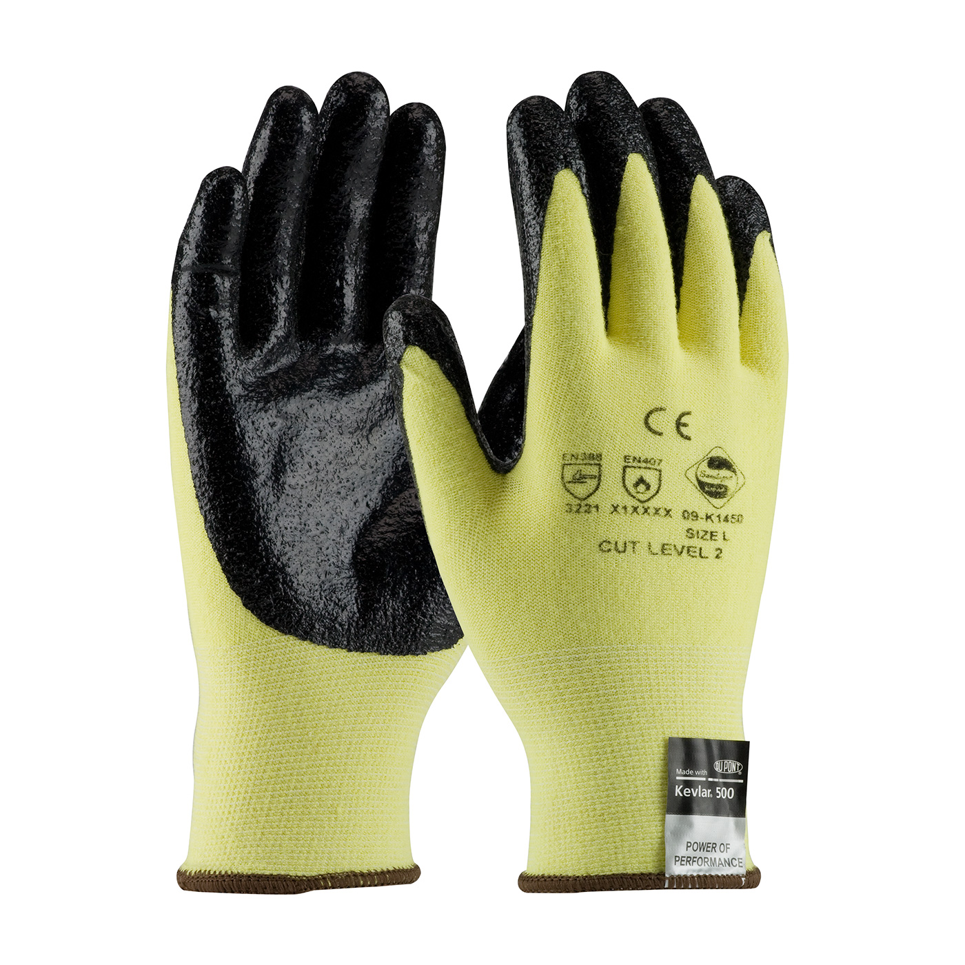 PIP® G-Tek® KEV™ Nitrile Coated Kevlar®/Lycra Gloves
