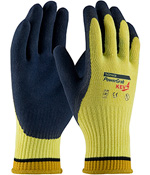 #09-K1444 PIP® Powergrab™ KEV4™Latex Coated Seamless Knit Kevlar® Gloves with Microfinish