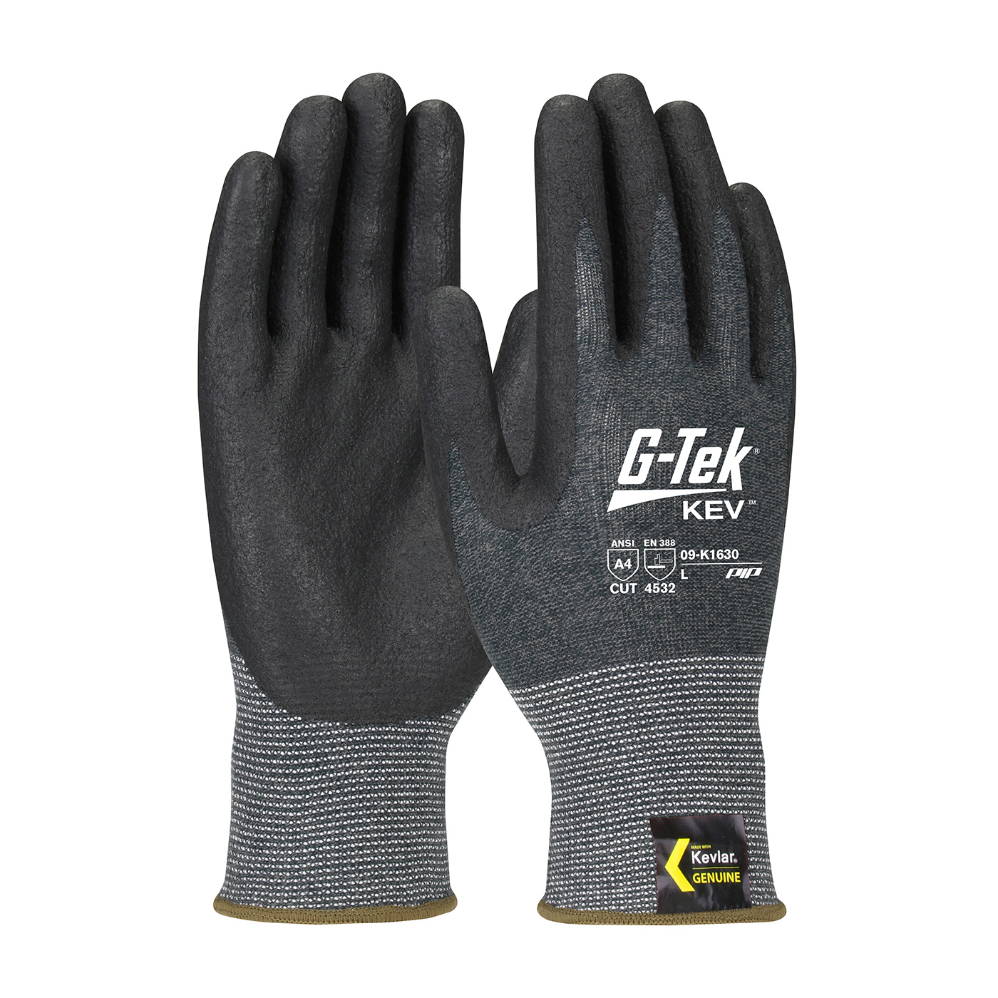 PIP® G-Tek® Kev™ Foam Nitrile Coated Kevlar® Gloves