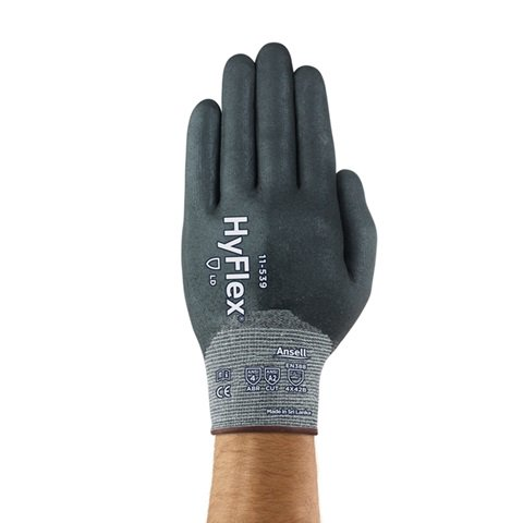 Ansell® HyFlex® 11-539 Full Coated Gloves