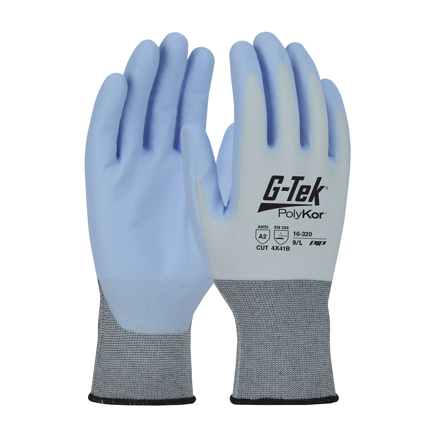 #16-320 PIP® G-Tek® PolyKor® X7™ Seamless Knit X7™ Blended Glove with NeoFoam® Coated Palm & Fingers - Touchscreen Compatible