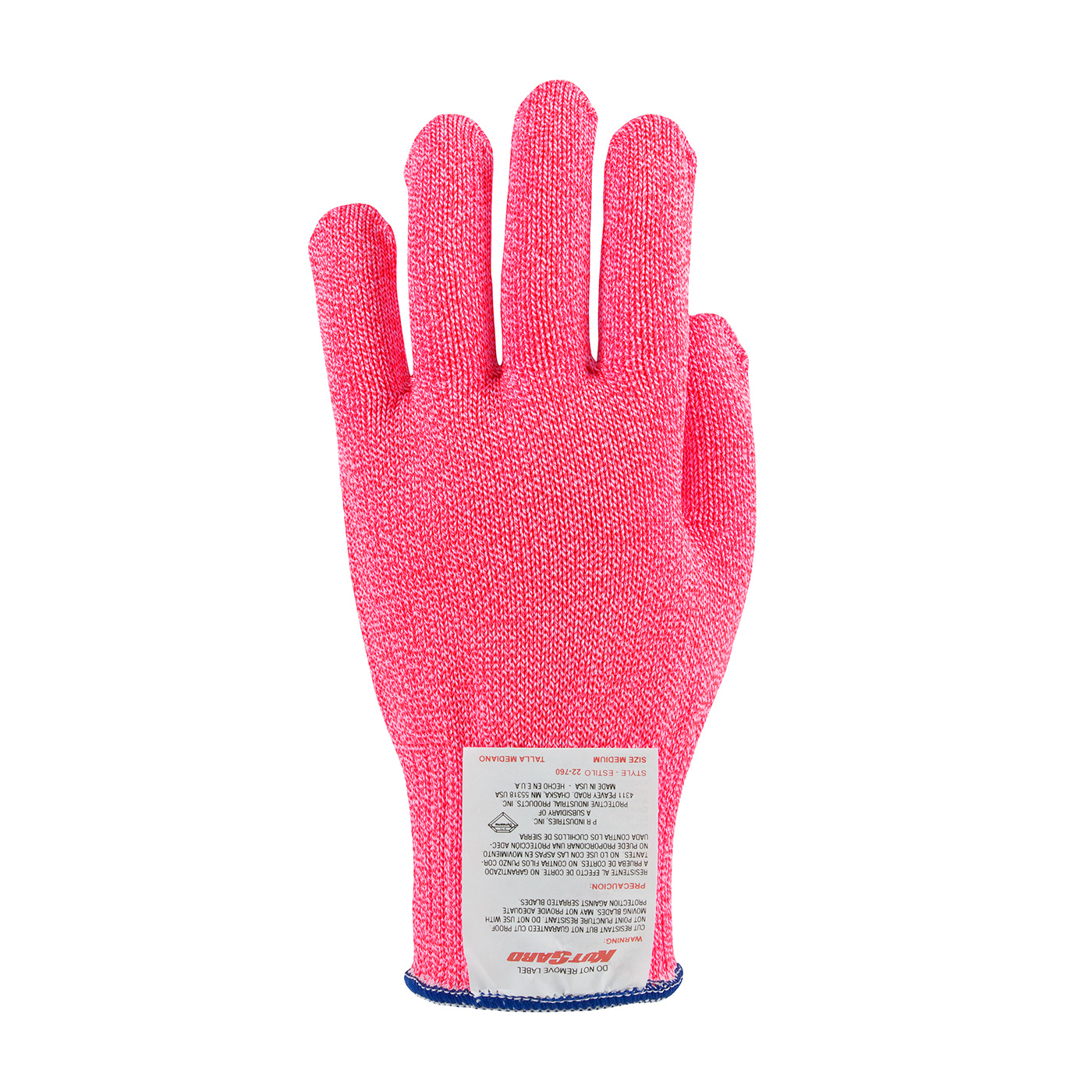 #22-750NP PIP® Neon Pink Kut-Gard® Dyneema® Antimicrobial Glove - Light Weight