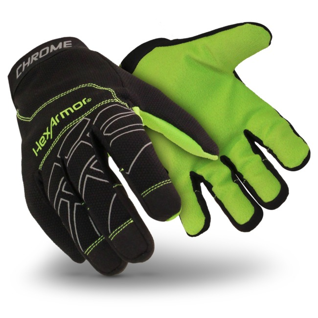 HexArmor® Chrome™ Cut A8 360° SuperFabric® Cut-Resistant Gloves