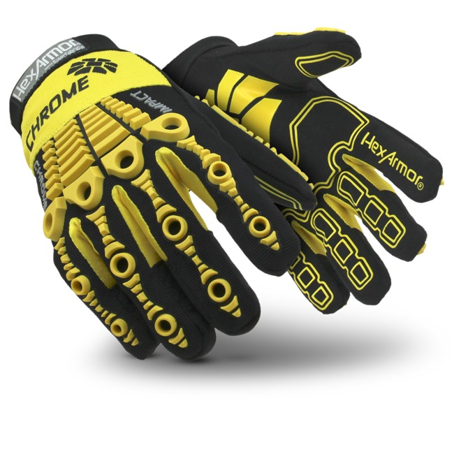 HexArmor® Chrome™ Cut A8 Anti-Impact 360 SuperFabric® 4025 Cut-Resistant Gloves