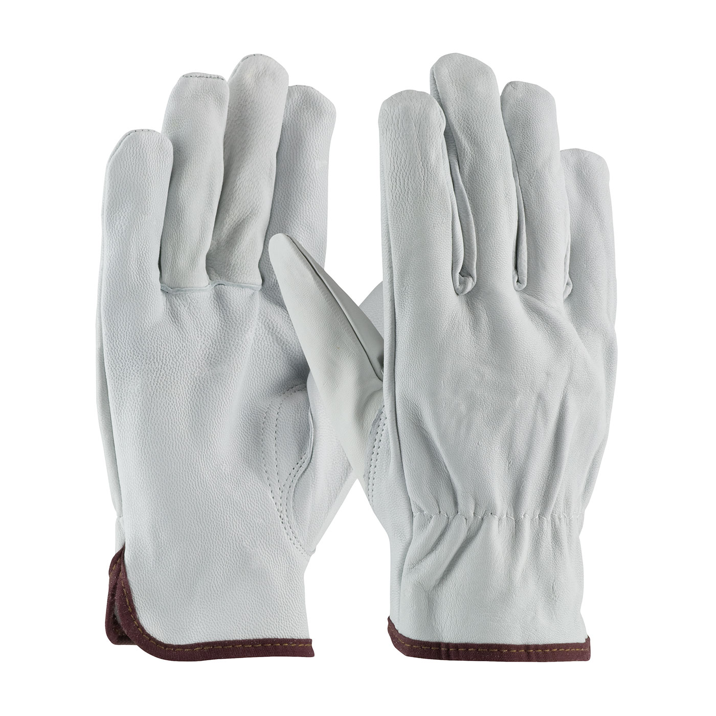 PIP®  Economy Grade Top Grain Goatskin Leather Drivers Glove - Keystone Thumb #71-3601
