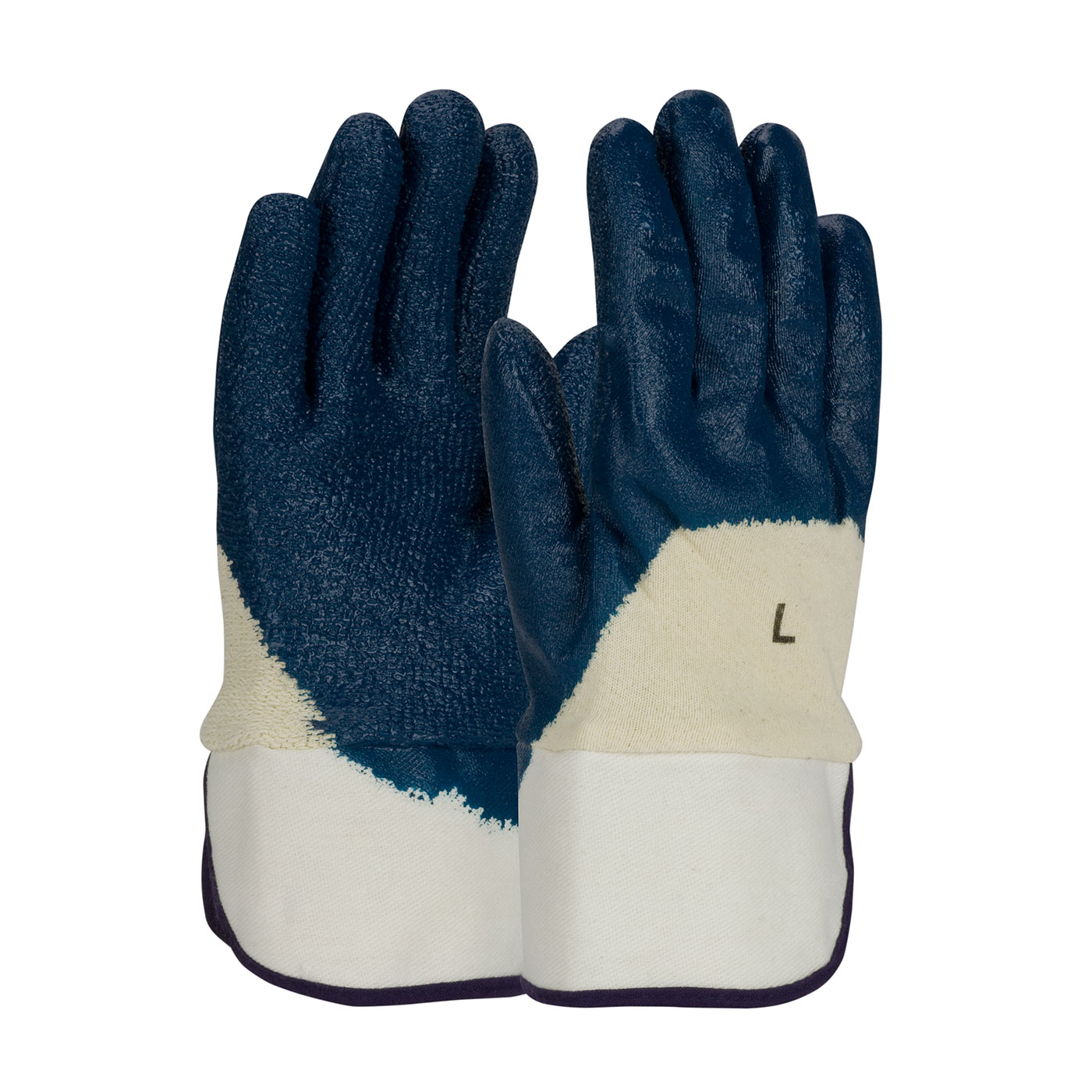 56-3145  PIP® ArmorGrip® Terry Lined Nitrile Dipped Glove with Rough Grip Texture and Safety Cuffs