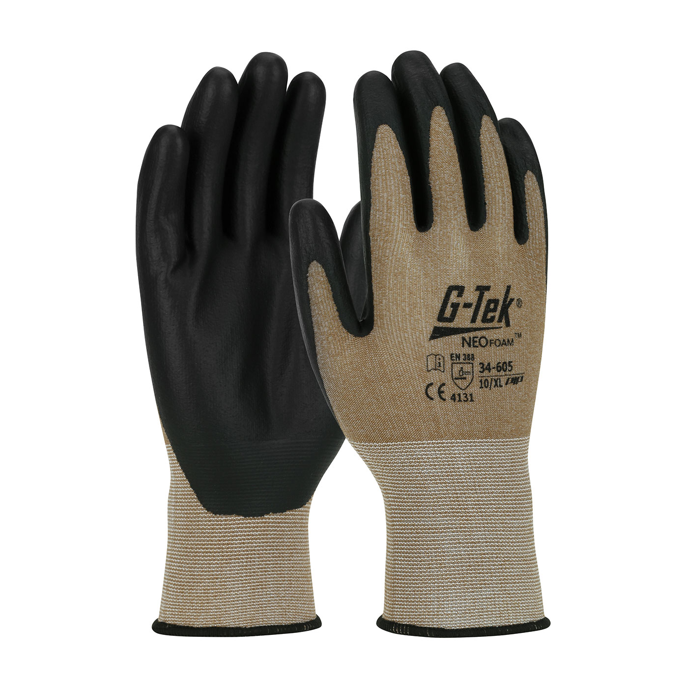 #34-605 PIP® G-Tek® Neofoam Coated 15-Gauge Seamless Nylon Knit Gloves