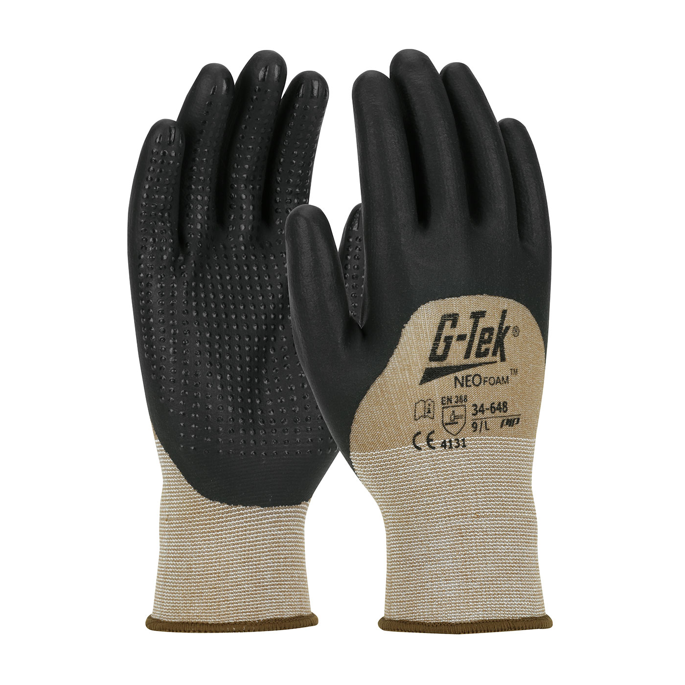 #34-648 PIP® G-Tek® Neofoam Micro Dot Coated Seamless Nylon Knit Gloves