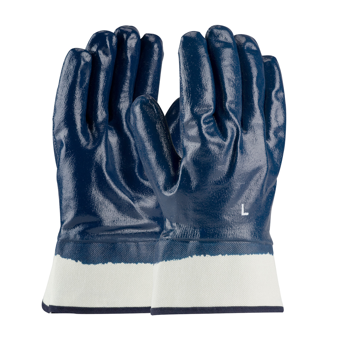 56-3154 PIP® ArmorGrip® Jersey Lined Full Nitrile Dipped Glove with Smooth Grip Texture and Safety Cuff