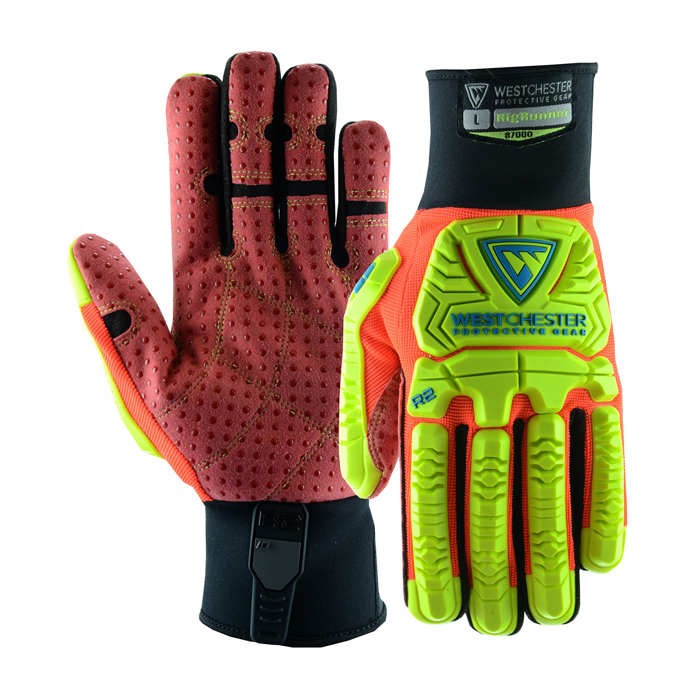 87000 PIP® West Chester R2 RigRigger Gloves