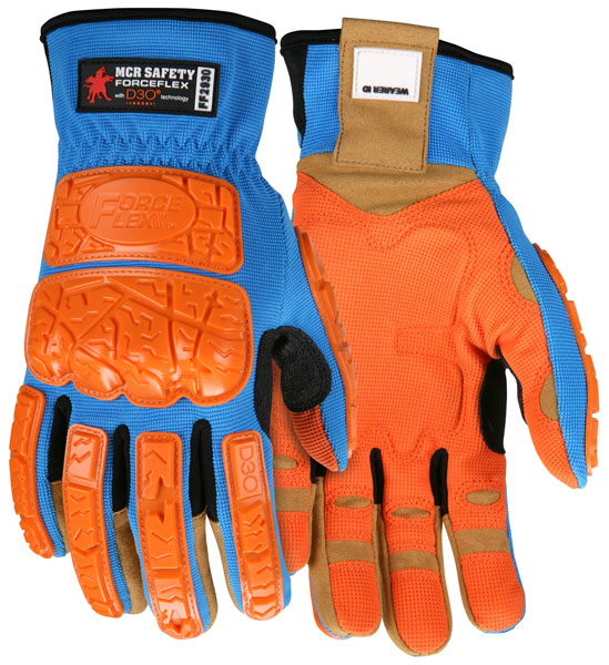 MCR Safety Forceflex® MultiTask D3o® Gloves
