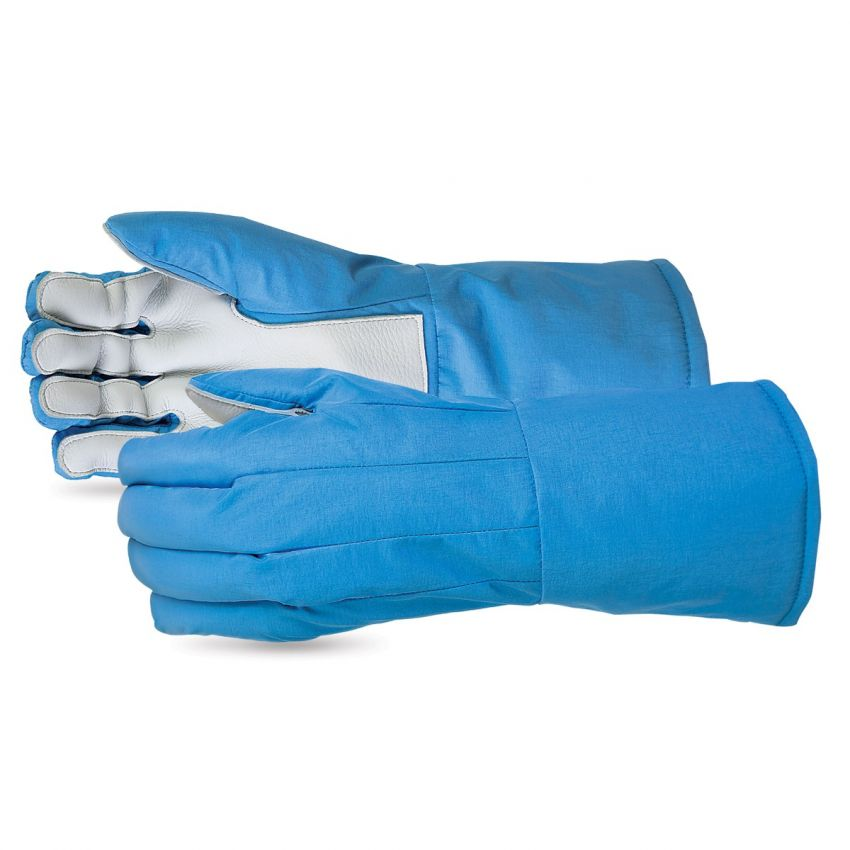 #635CRYLP Superior Glove® SnowForce™ Cryogenic Glove With Leather Palms and Porelle™ Waterproof Liner