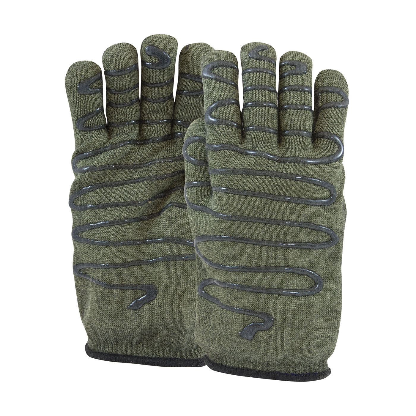 #43-851 PIP® Kut Gard®  Kevlar® / Preox Seamless Knit Hot Mill Glove with Cotton Liner and Double-Sided SilaGrip™ Coating