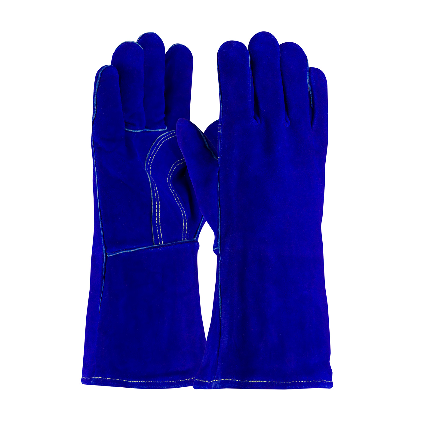 #73-7018 PIP® Shoulder Split Cowhide Leather Welder's Glove with Cotton Foam Liner and Kevlar® Stitching
