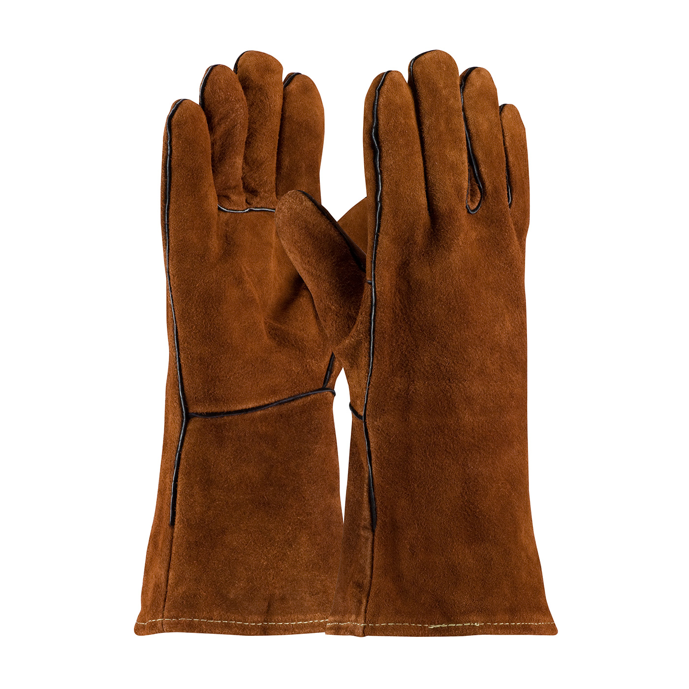 #73-7088 PIP® Shoulder Split Cowhide Leather Welder's Glove with Cotton Liner