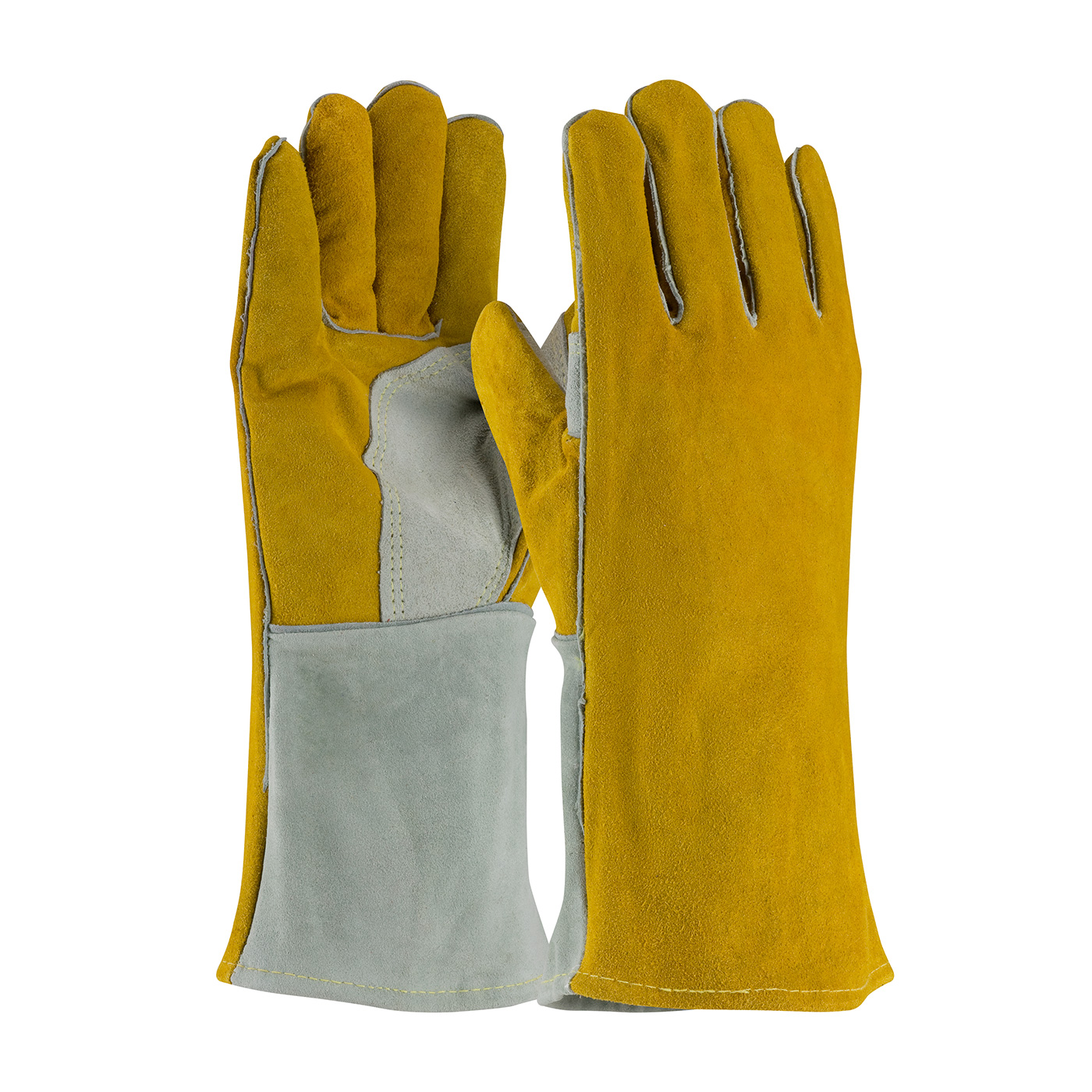 #73-7150 PIP® Side Split Cowhide Leather Welder's Glove with Cotton Foam Liner and Kevlar® Stitching