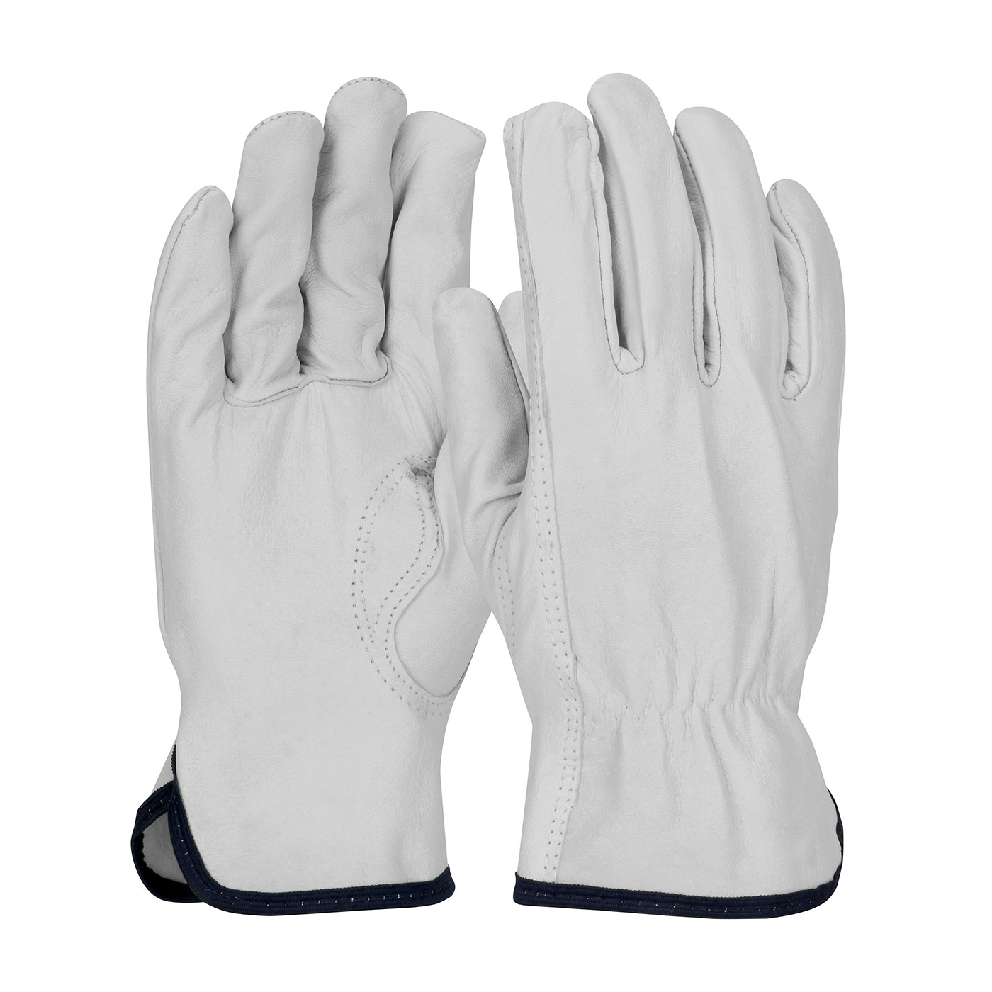 77-3600 PIP® Top Grain Goatskin Leather Drivers Glove with White Thermal Lining and Keystone Thumb