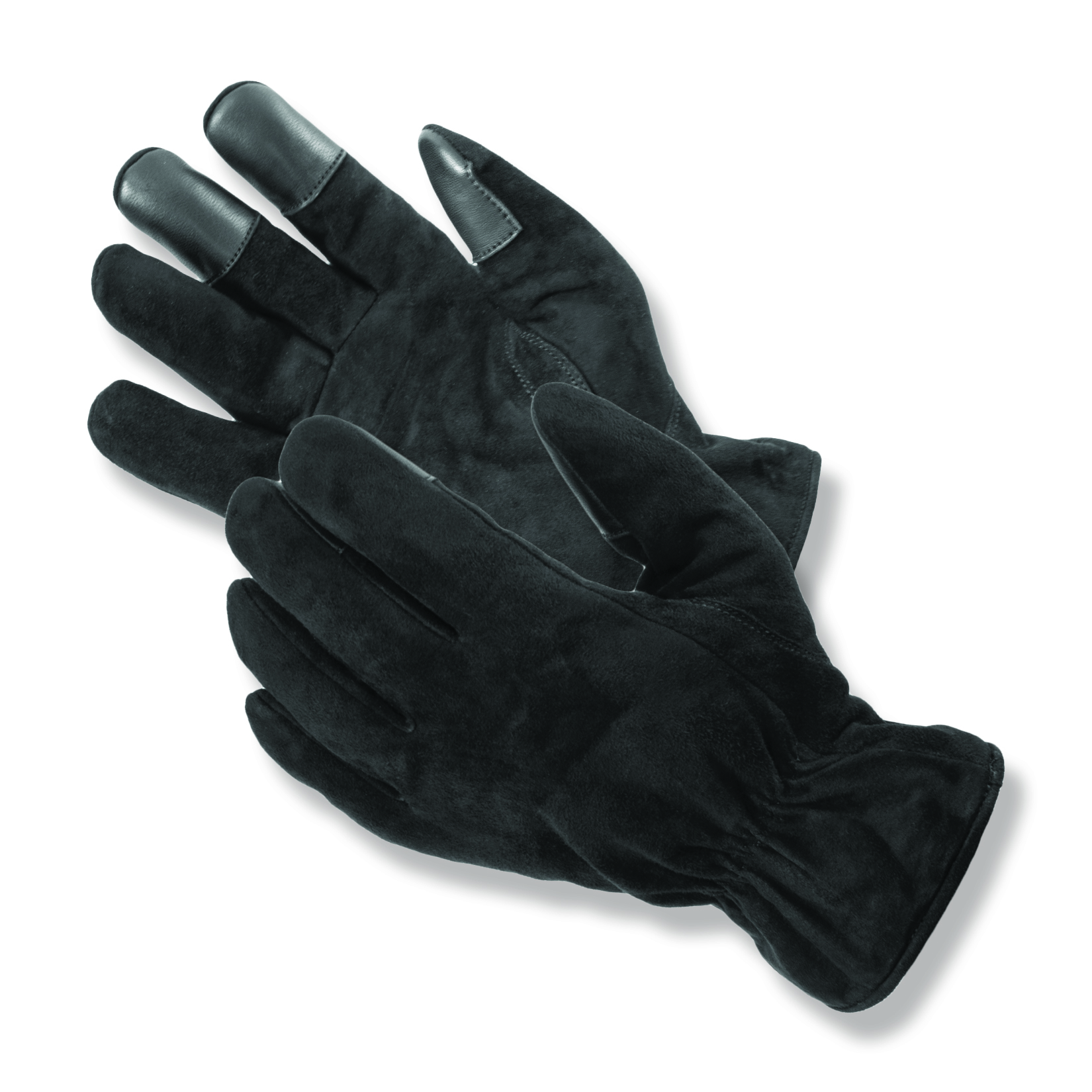 Suede leather Courier™ Winter Uniform Gloves feature non-slip fingertip pads, a fleece lining and 100 gram Thinsulate
