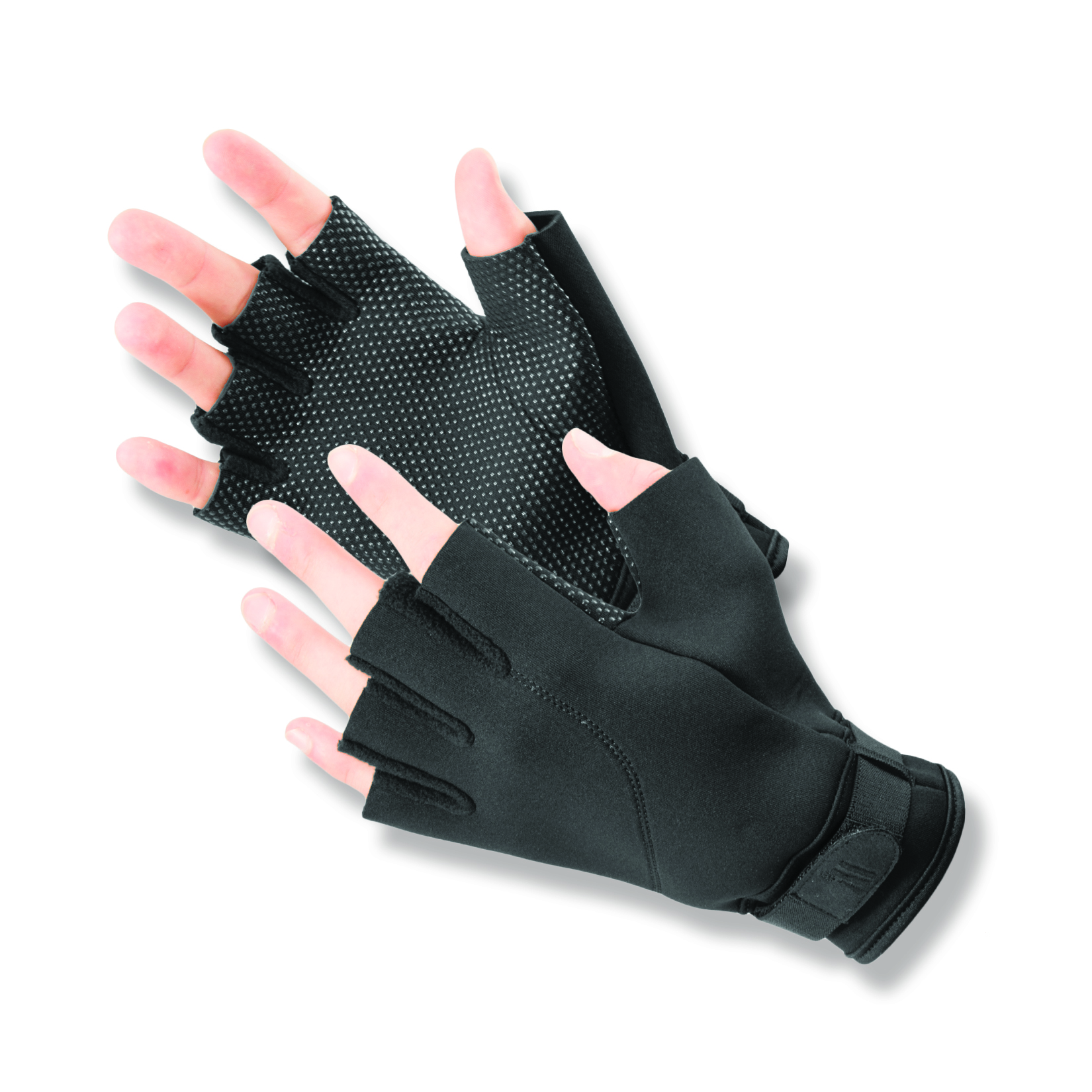 Expert Fin™ Cold Weather Open Finger Neoprene Gloves with gripper dots on the palms