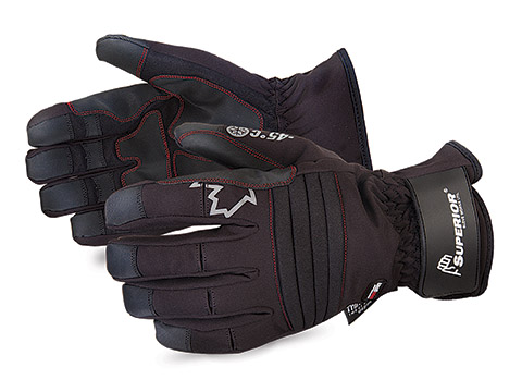 SNOWD388V - Superior Glove Snowforce™ Deluxe Extreme Cold Commercial Winter Gloves w/ PVC Clarino® Palms