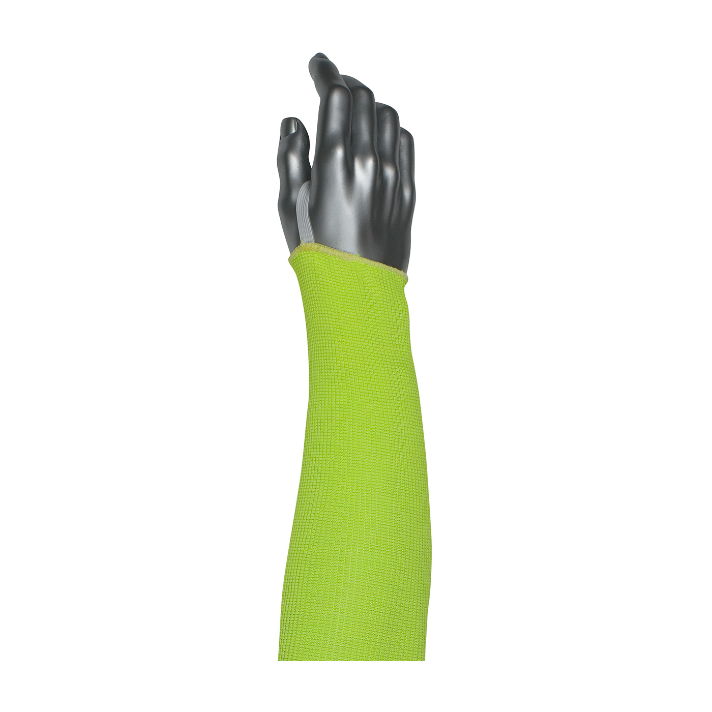 PIP® Kut Gard®  18-inch Single-Ply ACP / Kevlar® Blended Sleeve with Smart-Fit® and Elastic Thumb #10-21HACPNY-ET