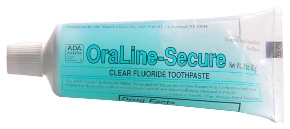 #41998 OraLine® ADA Accepted 3-oz Fluoride Mint Toothgel