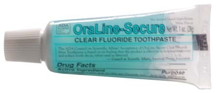#42104 OraLine® ADA Accepted 1-oz Fluoride Mint Toothgel