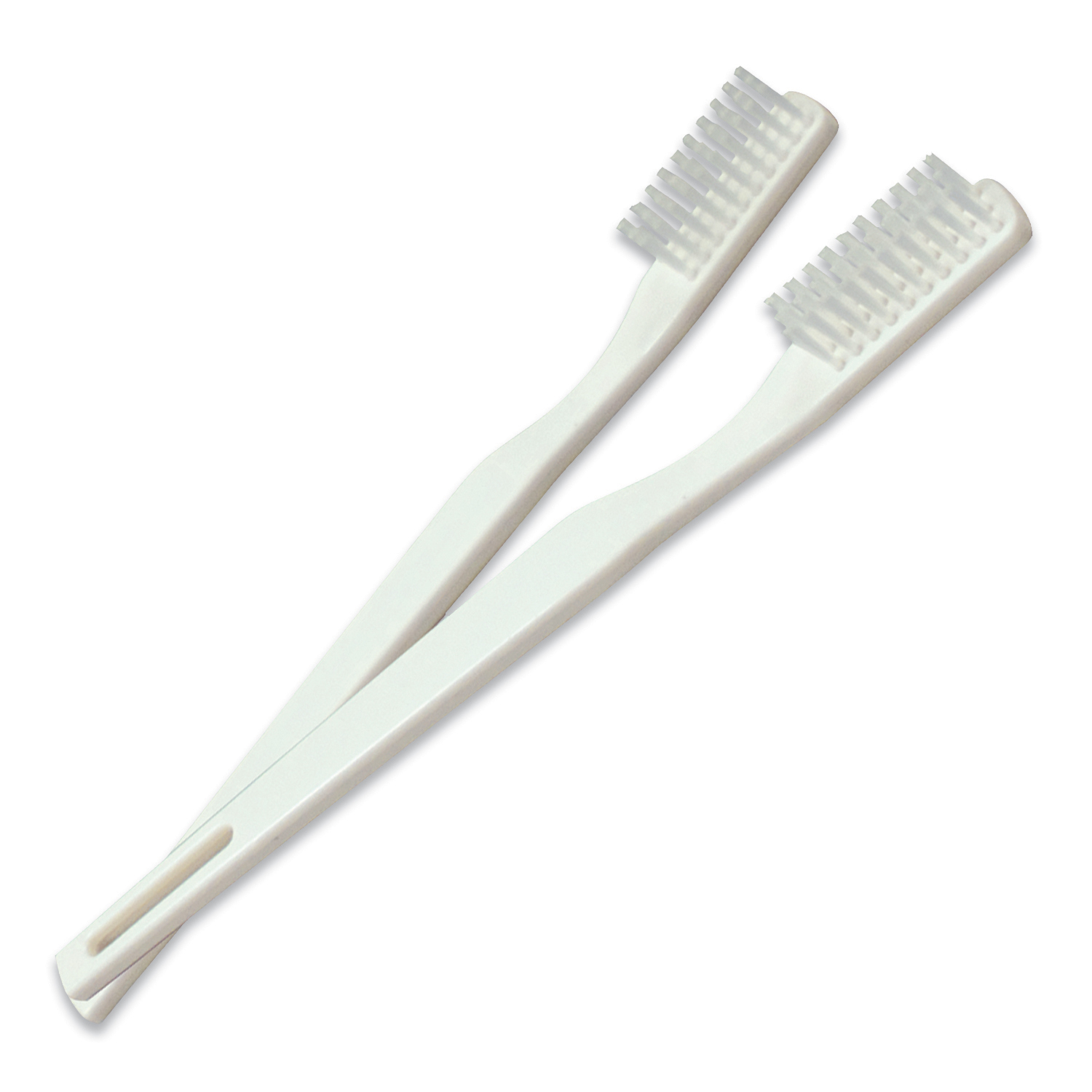 4861 Dynarex® Adult 30 Tuft Ivory Color Toothbrushes