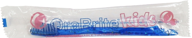 #ORA10930 OraBrite® Child Pre-Pasted Toothbrushes