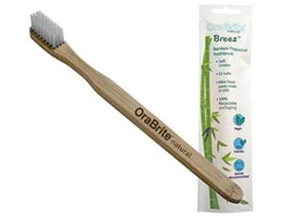 ORA22921 OraBrite Biodegradable Bamboo Child Toothbrushes