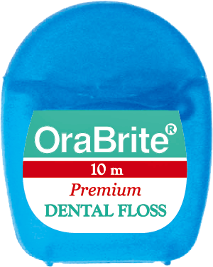 #ORA48033 OraBrite 10m Plain PTFE Premium Dental Floss