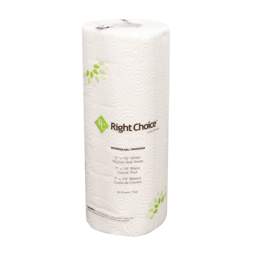 78000008 Right Choice™ 2-Ply Kitchen Towels