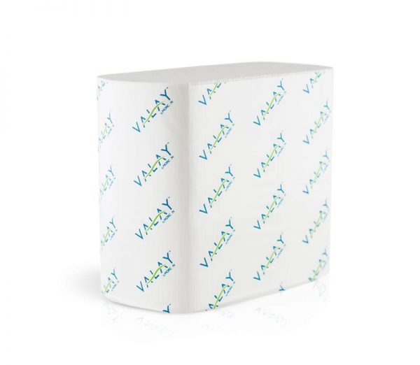 4500VN Morcon Valay 2-Ply 6.5`x8.25` White   Interfolded Paper Napkins