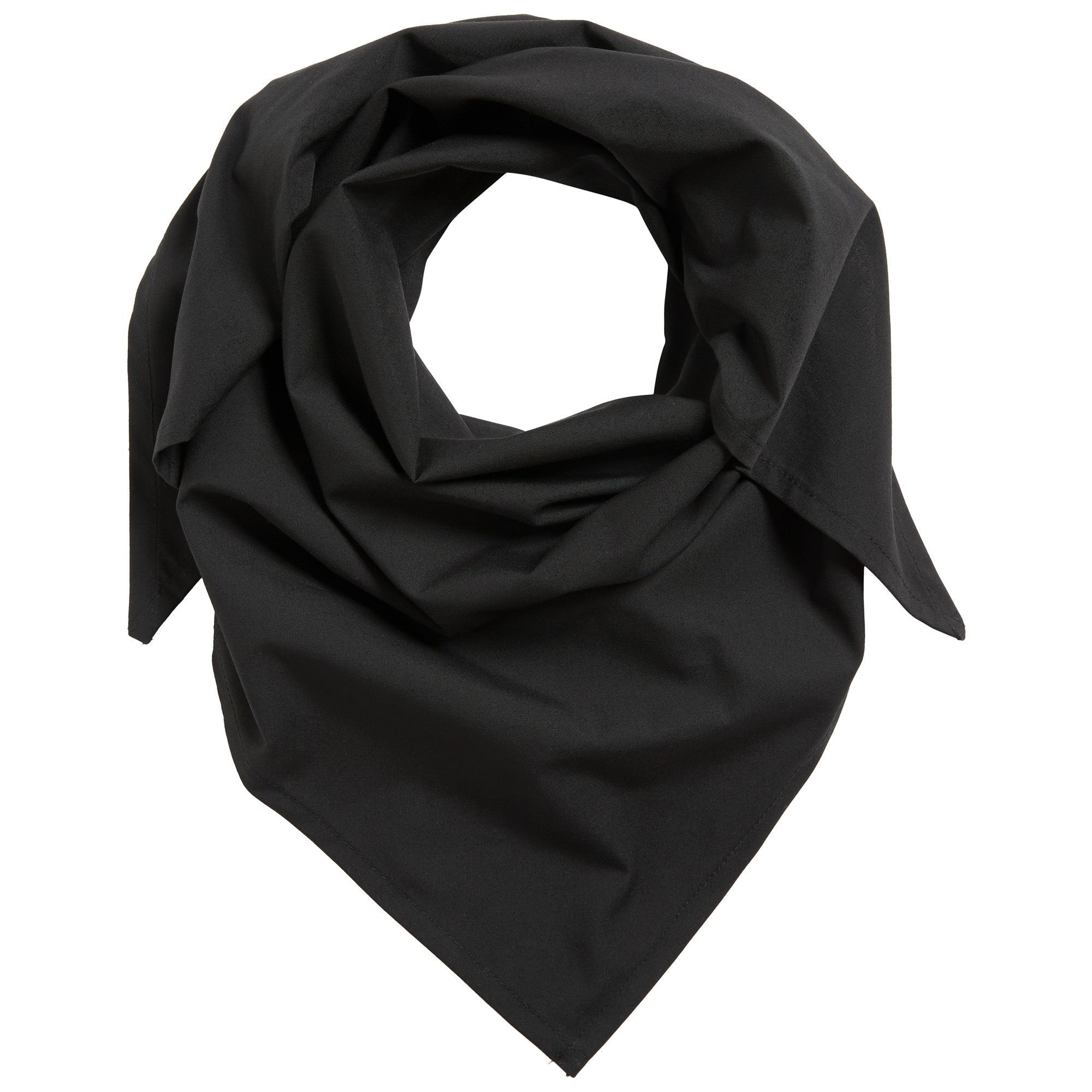 ValuBran Black Cloth Face Covers (22-in x 42-in)