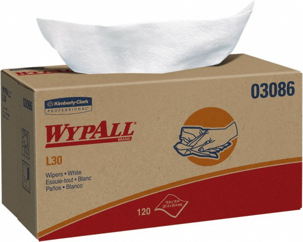 Kimberly Clark® Professional Wypall® 03086 L30 Disposable General Purpose Wipers