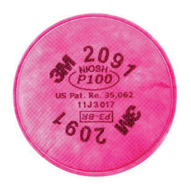 3M™ 2091 P100 Replacement Filters For Respirators