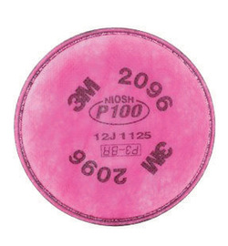 3M™ 2096 P100 Acid Gas Replacement Filter For Respirators