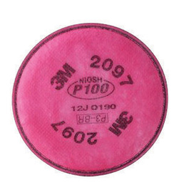 3M™ 2097 P100 Organic Vapor Replacement Filter For Respirators