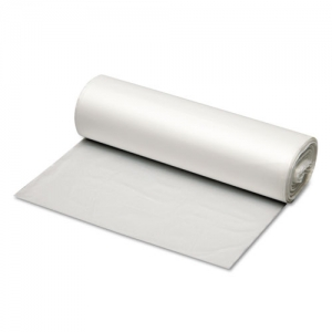 Fortune Plastic 40-45 Gallon Hi-Density 40x48 Natural Coreless Roll 16 mic Can Liner