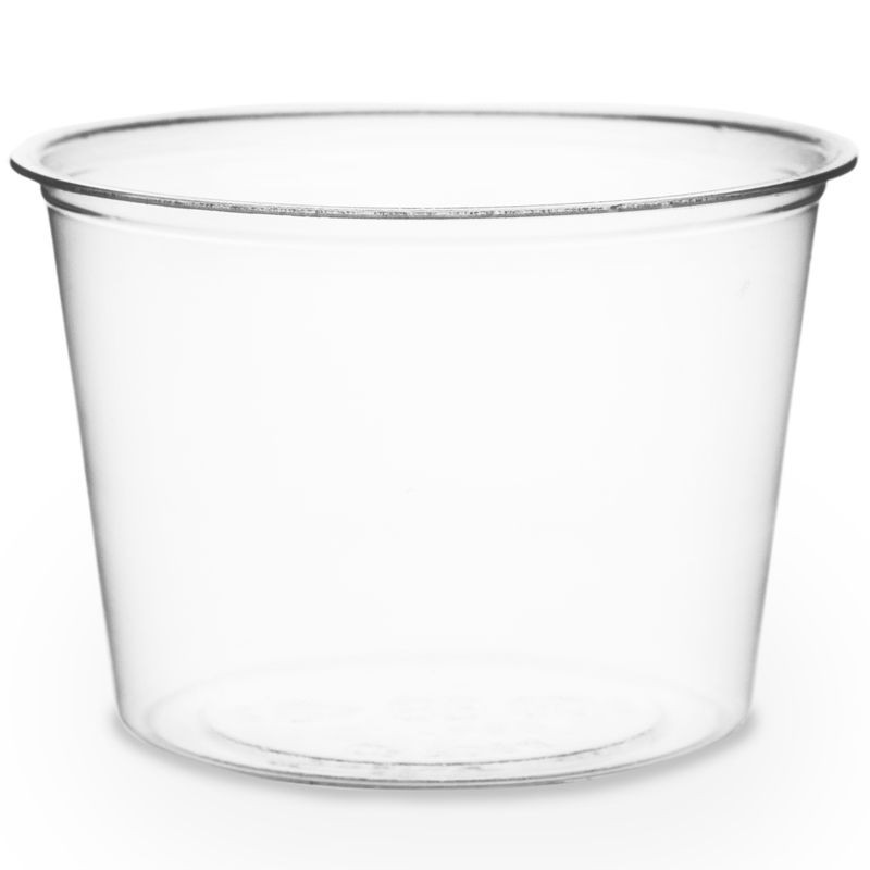 CF7054 Vegware Compostable 4-ounce Portion Cups