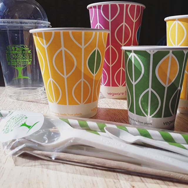 Vegware Custom Branded Drinking Cups