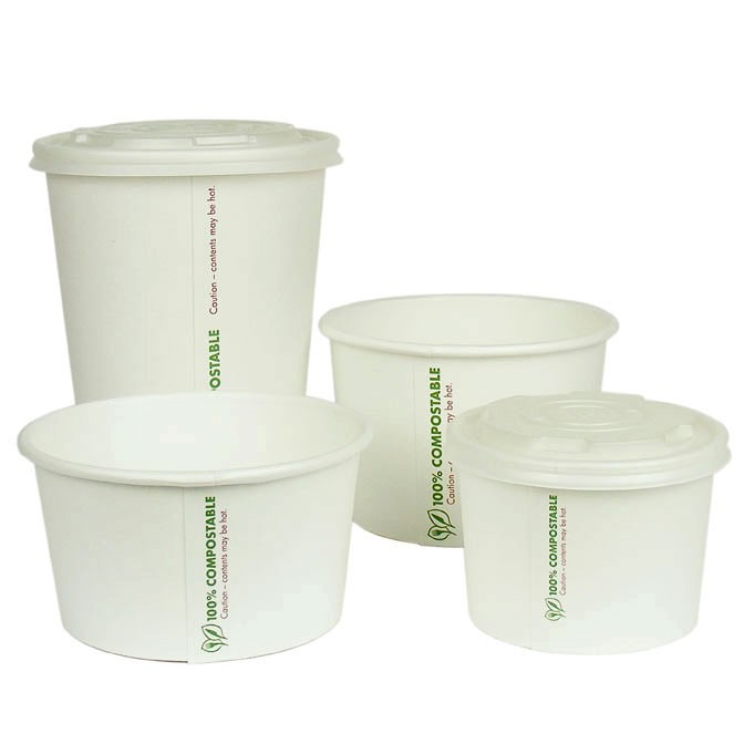 Vegware™ Compostable 16-ounce Food Containers