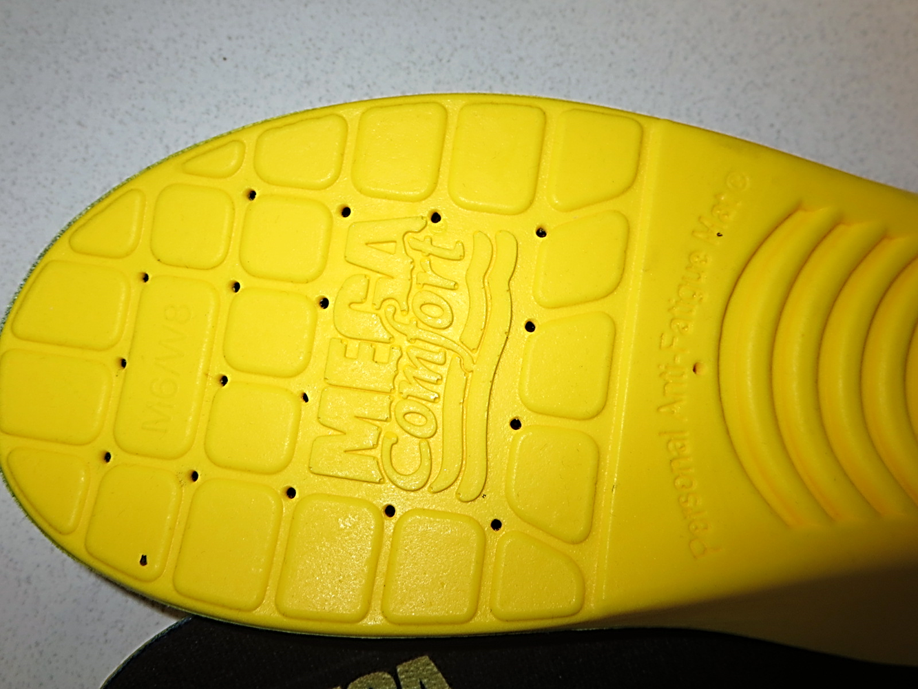 #PAMPR - MEGAComfort® PAM® Puncture-Resistant Anti-Fatigue Industrial Insoles