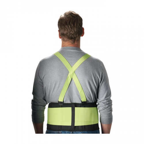 PIP® High Visibility Lime Yellow Back Support Belt